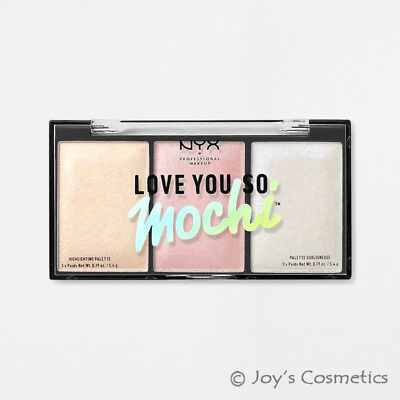 "1 NYX Love You So Mochi Highlighting Palette "" LYSMHP 02 - Arcade Glam "" *Joy's*"