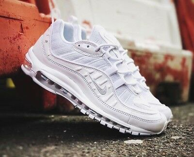 huge discount 45d0b 05e60 Nike Air Max 98 QS - Pure Platinum White - Summit - BNIB 6 7 8