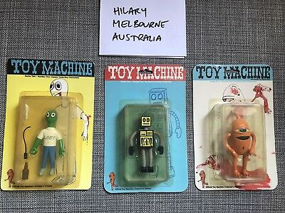 Toy Machine Skateboards Vintage Collectible Turtle Boy Ed Templeton