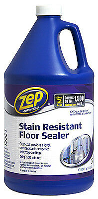 ZEP INC - Floor Sealer, Stain Resistant, 1-Gal. Concentrate