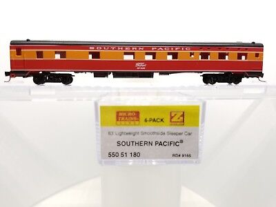 Z Scale MTL 550 51 180 Southern Pacific Smoothside Sleeper Car #9165
