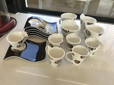 Coffee Cups And Saucers - Villeroy & Boch