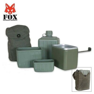 Fox Outdoor Serbian Military Mess Kit, Bug Out,Camping,Hiking