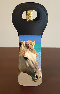 BEACH HORSE Wine Bottle Cooler Bag