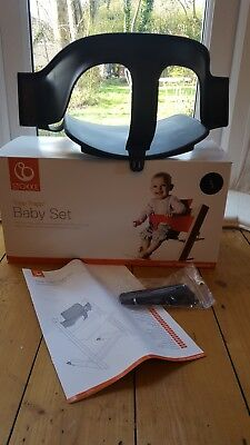 Stokke Tripp Trapp High Chair Baby Set Black