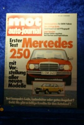 MOT 3/76 Mercedes Benz 250 Ford Escort 1,3 Lada