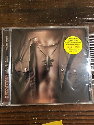Operation: Mindcrime-The Key CD NEW SEALED GEOFF TATE QUEENSRYCHE 2015