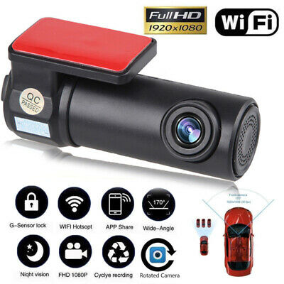 Mini WIFI 1080P HD Night Vision Hidden Car DVR Dash Cam Camera Video Recorder