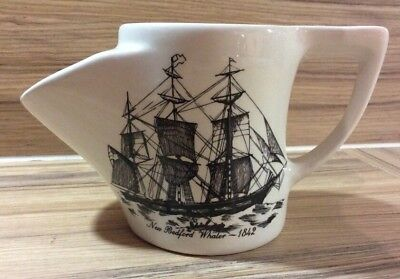 Lord Nelson Pottery Shaving Mug, New Bedford Whaler 1842, Handcrafted In England