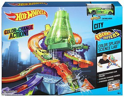 HOT WHEELS Color Splash Science Lab LABORATORIO SCIENTIFICO CAMBIA COLORE CCP76