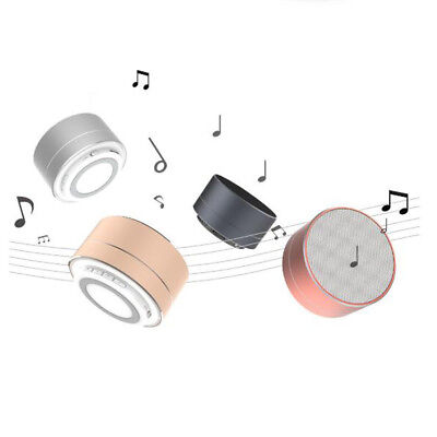 For Tablet Smartphone Mini Portable Bluetooth Wireless Super Bass Stereo Speaker