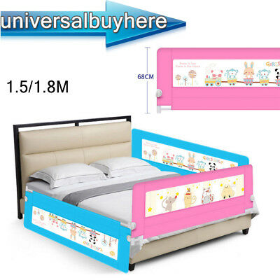 Foldable 15 18M Child Bed Rail Sleep Guard Protection Baby Safe Bedrail Home