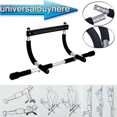 Door Gym Pull Up Bar Home Chin Ups Sit Ups Bar Exercise Fitness Strength Workout