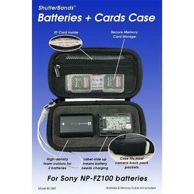 ShutterBands Case for Sony NP-FZ100 Battery and Memory Cards #BC-002