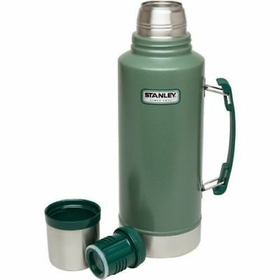 """STANLEY """"Double XL"""" 1.9L FLASK  STAINLESS STEEL VACUUM BOTTLE THERMOS GREEN"""