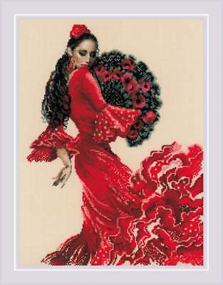"Counted Cross Stitch Kit RIOLIS 1740 - ""Dancer"""