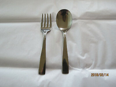 Oneida Childrens Stainless Fork and Spoon Set