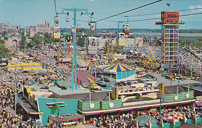 Canadian National Exhibition, Showing The Cablecar Skyride, Toronto, Ontario, Ca