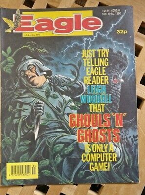 New Eagle Comic 1990 14th April