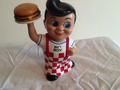 Big Boy Coin Bank 1999 Plastic  Resteraunt And Fast Food