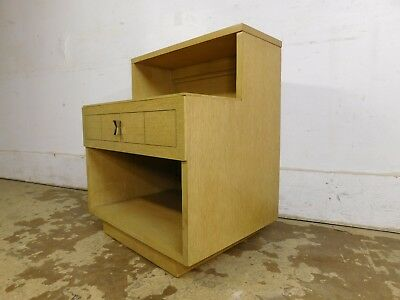 Vintage MCM Retro c1955 Mid Century Modern Oversized Nightstand Side Table Chest