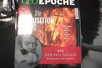 GEO EPOCHE - Nr.89/2018 Die Inquisition (Heft+DVD)