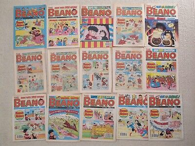 110 x Late 1980's/Early 1990's Beano and Dandy comics in good condition