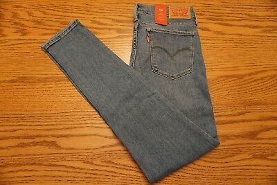 NWT WOMEN'S LEVI JEANS 711 Multiple Sizes Skinny Mid Rise Soft Embellished Studs