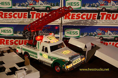 1994 Hess Rescue Truck - Dented Box