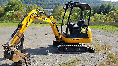 2014 JCB 8018CTS Mini-Excavator ONLY 625 HOURS!