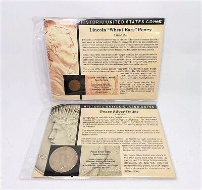 The Morgan Mint Peace Silver Dollar Lincoln Wheat Ears Penny