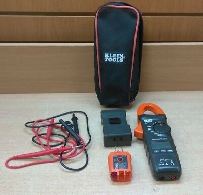 (MA5) Klein Tools CL110 CAT III Auto Ranging Digital Clamp Meter