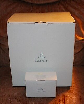 ~NEW~ PartyLite Ariana Electric Fountain/Tealight Holder-P8015U & Fountain Cord