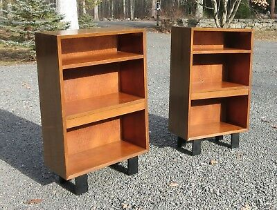 Pair of George Nelson Nightstands or Bookcases Herman Miller