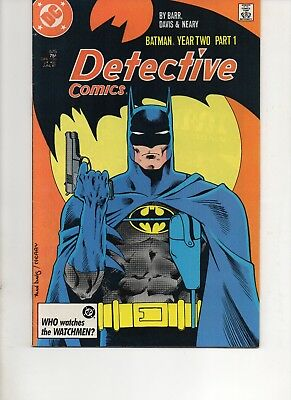 Detective Comics 575 Very Fine+ 1987 Dc Copper Age Comic