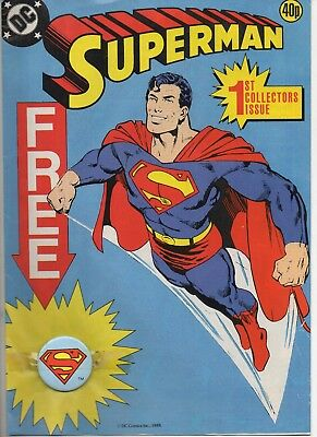 Superman 1 Very Fine 1988 Uk Comic
