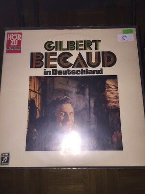 Gilbert Becaud LP Becaud Live In Deutschland (312)