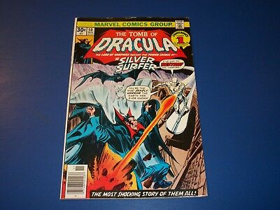 Tomb of Dracula #50 Bronze Age Silver Surfer Wow Fine Beauty