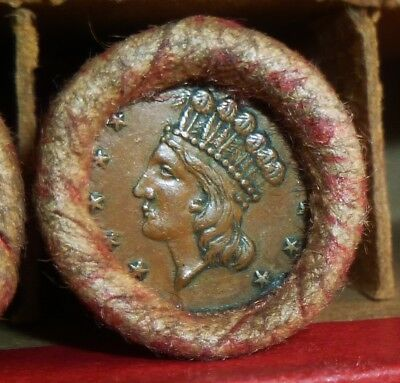 Very Nice Old Penny Roll for bid as pictured      ROLL # 20