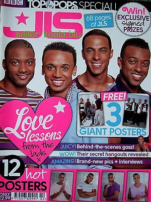 JLS UK Special TOTP's Magazine 2011 with 3 Large Posters *Eyes Wide Shut Jukebox