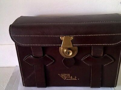 1950s Realist Deluxe leather camera bag
