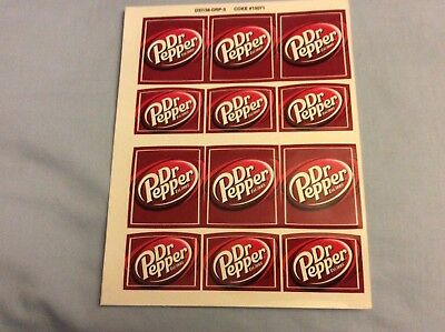 Dr Pepper Collectible Decals