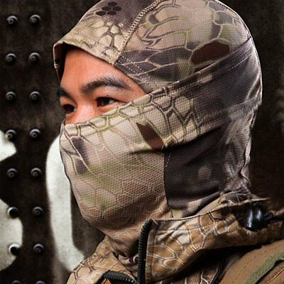 NEW Camouflage Balaclava Army Outdoor Tactical Military Full Face Mask Cap Hats