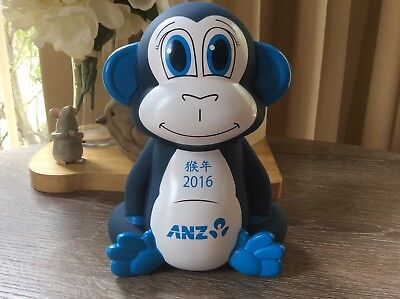 NEW IN BOX ANZ Year of the MONKEY 2016 Moneybox Money Box rare