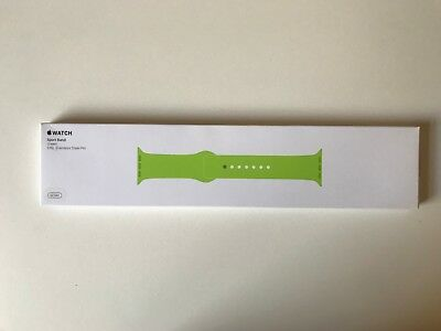 Genuine Apple Watch 38mm Sport Band, Green 316L Stainless Steel Pin