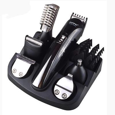 Professional Body Beard Hair Cut Clipper Shaver Machine Kit Trimmer Grooming Set