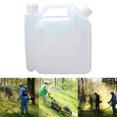 1L Portable 2-Stroke Chainsaw Strimmer Fuel Petrol Oil Mixing Bottle 25:1/50:1