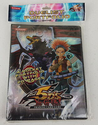Yu-Gi-Oh 5D's Trading Card Game Duelist Portfolio Konami Yugioh - New & Sealed