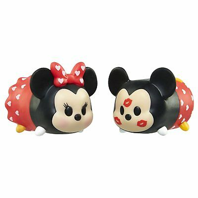 Tsum Tsum Valentines Day Mickey and Minnie Tsweeties Gift Set