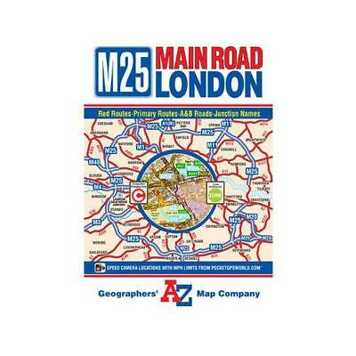 M25 Main Road Map of London by Geographers' A-z Map Company